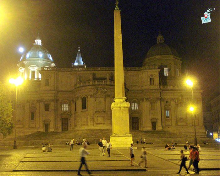 """църква """"Санта Мария Маджоре"""" в Рим, западна фасада"""