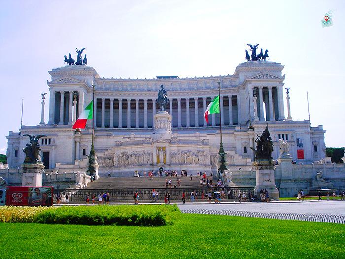monumentalen kompleks Vitoriano - Rim