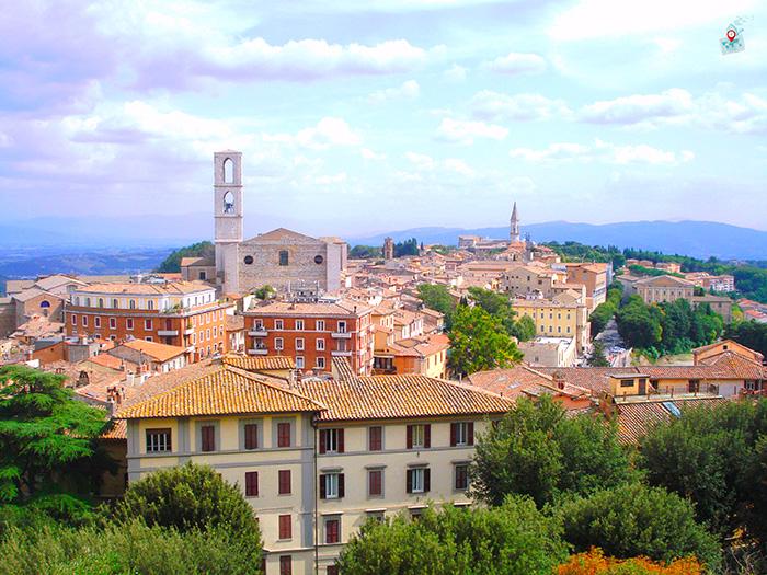 Perudja, Italia