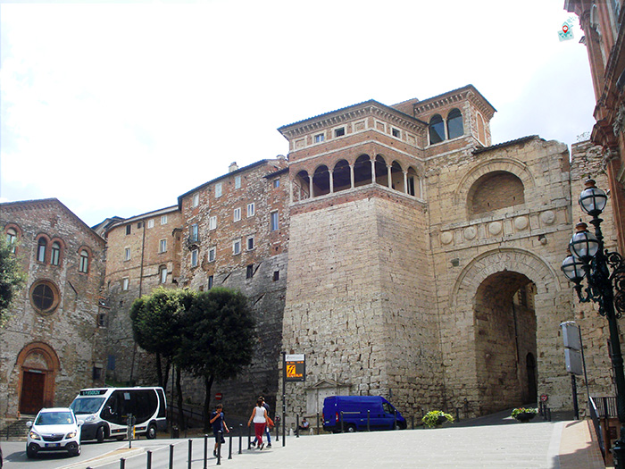 Arco d'Augusto, Perugia
