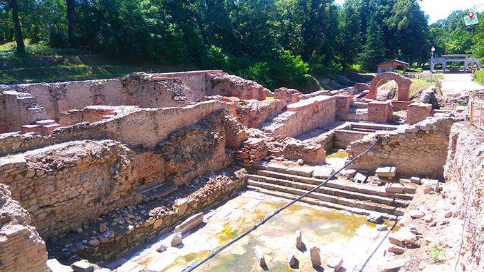Rimski termi, Hisarya
