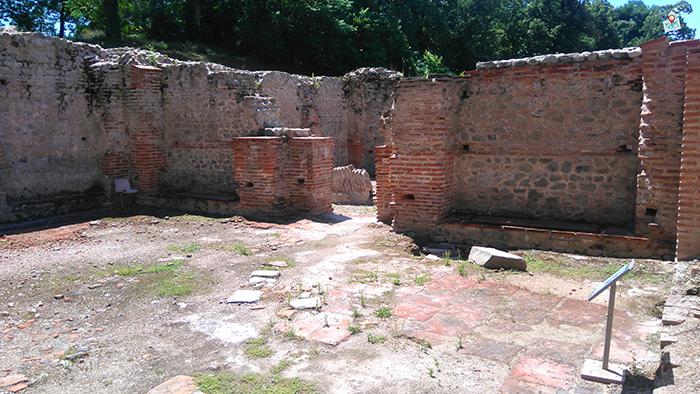 Rimski termi, Hisarya, tepidarium