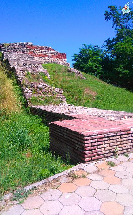 krepostna stena Hisarya