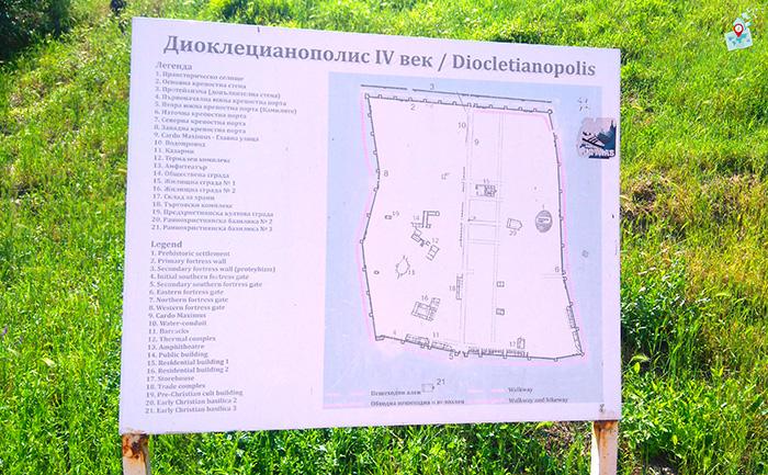 karta Dioklecianopolis, Hisarya